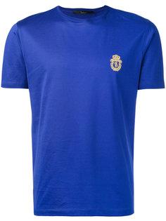 футболка с вышивкой логотипа Billionaire
