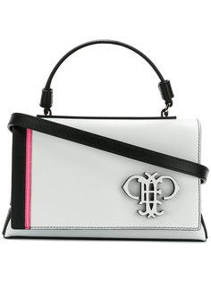 сумка-тоут с вышитым логотипом Emilio Pucci