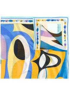 кашемировый шарф с принтом Emilio Pucci