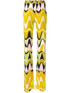 брюки с треугольным принтом Emilio Pucci
