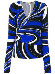 блузка с запахом Emilio Pucci