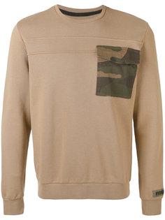 свитер с накладным карманом Hydrogen
