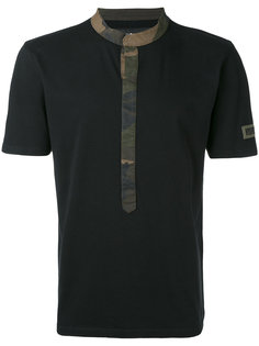 футболка с контрастной отделкой Hydrogen