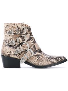 ботинки с пряжками Toga Pulla