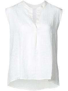 блузка без рукавов с глубоким вырезом Majestic Filatures