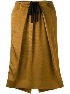 юбка прямого кроя Victoria Beckham