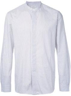 рубашка в тонкую полоску Lemaire