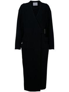 пальто-кардиган с ремнем Rito