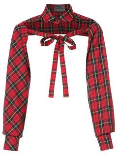 топ-рубашка с завязками Les Animaux