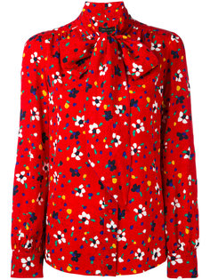 блузка с цветочным принтом Marc Jacobs