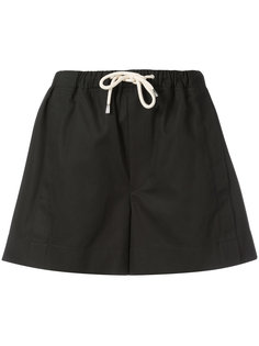 шорты с талией на шнурке Helmut Lang