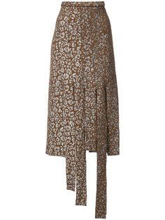 юбка с леопардовым принтом  Barbara Bologna