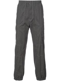брюки с манжетами на резинке Undercover