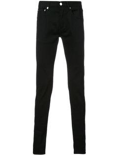 джинсы с вышивкой звезд Givenchy