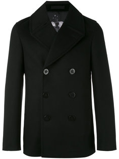 короткое двубортное пальто Alexander McQueen