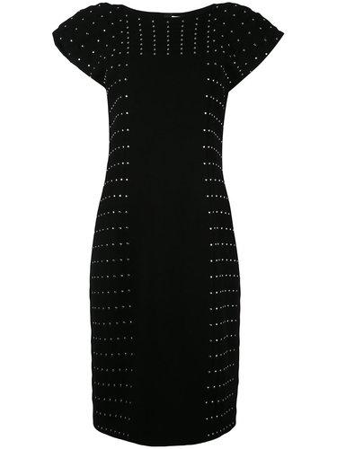 платье миди с заклепками Comme Des Garçons Noir Kei Ninomiya