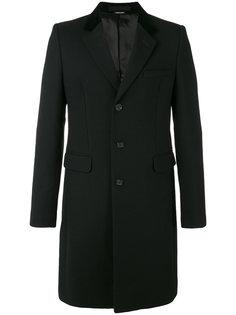 классическое приталенное пальто Alexander McQueen