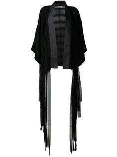 пиджак-кимоно с бахромой Murmur