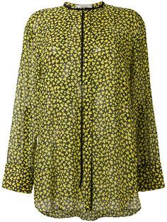прозрачная блузка с леопардовым принтом Dorothee Schumacher