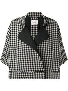 клетчатая куртка с рукавами три четверти Dorothee Schumacher
