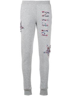 декорированные спортивные брюки Philipp Plein
