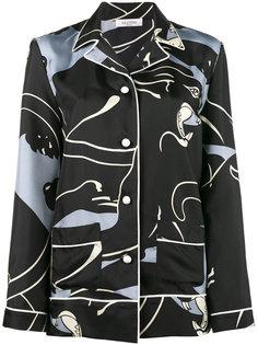 пижамный топ с принтом пантер Valentino