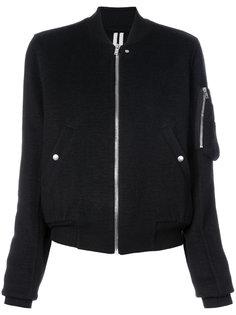 кашемировая куртка бомбер Rick Owens