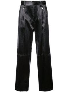 плиссированные классические брюки Icosae