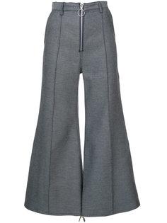 укороченные брюки клеш Marquesalmeida
