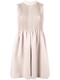 мини платье с плиссировкой Valentino