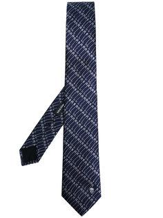 галстук с принтом английских булавок Alexander McQueen