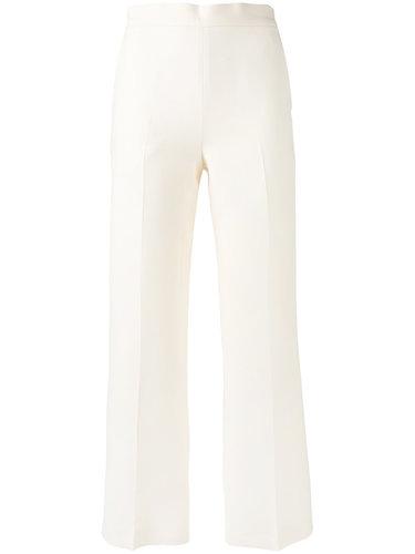 укороченные брюки клеш Fendi