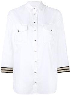рубашка с вышивкой на рукавах Ballantyne