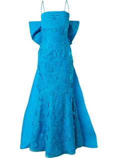 вечернее платье со шлейфом Bambah