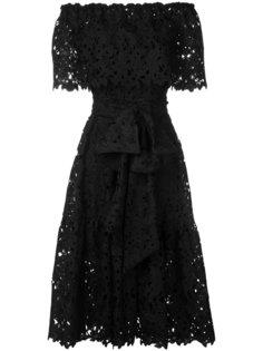 кружевное платье с открытыми плечами Bambah