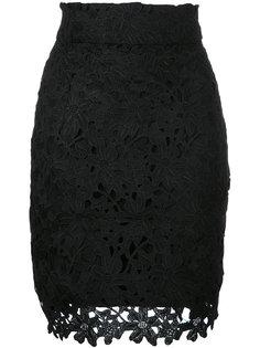 кружевная мини-юбка  Bambah