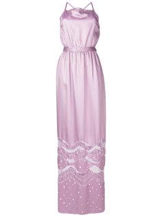 вечернее платье с блестящей отделкой Nina Ricci