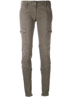 брюки кроя скинни Armani Jeans