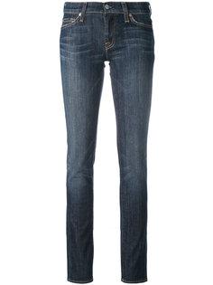 классические джинсы кроя скинни 7 For All Mankind