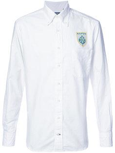 рубашка с вышивкой логотипа Gitman Vintage