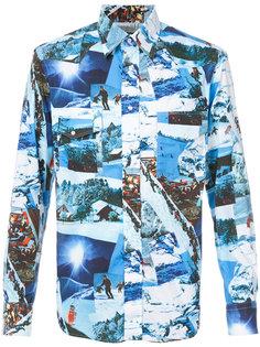 рубашка с принтом Gitman Vintage