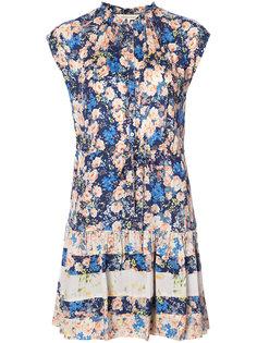 платье с цветочным принтом Rebecca Taylor