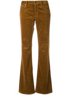 расклешенные вельветовые брюки Ralph Lauren
