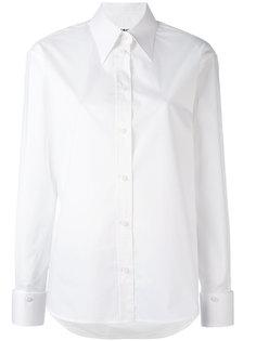 рубашка с заостренным воротником Mm6 Maison Margiela