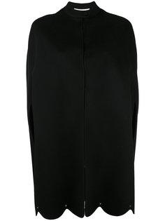 пальто-кейп с заклепками Valentino
