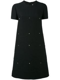 короткое платье-футболка Valentino