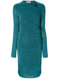 платье слим с длинными рукавами  A.F.Vandevorst