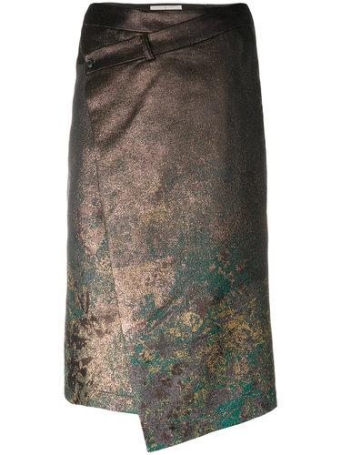 асимметричная фактурная юбка  A.F.Vandevorst