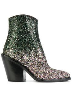 ботинки с отделкой блестками A.F.Vandevorst