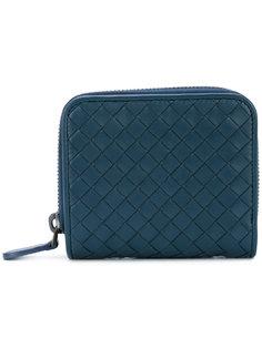 плетеный кошелек для монет Bottega Veneta
